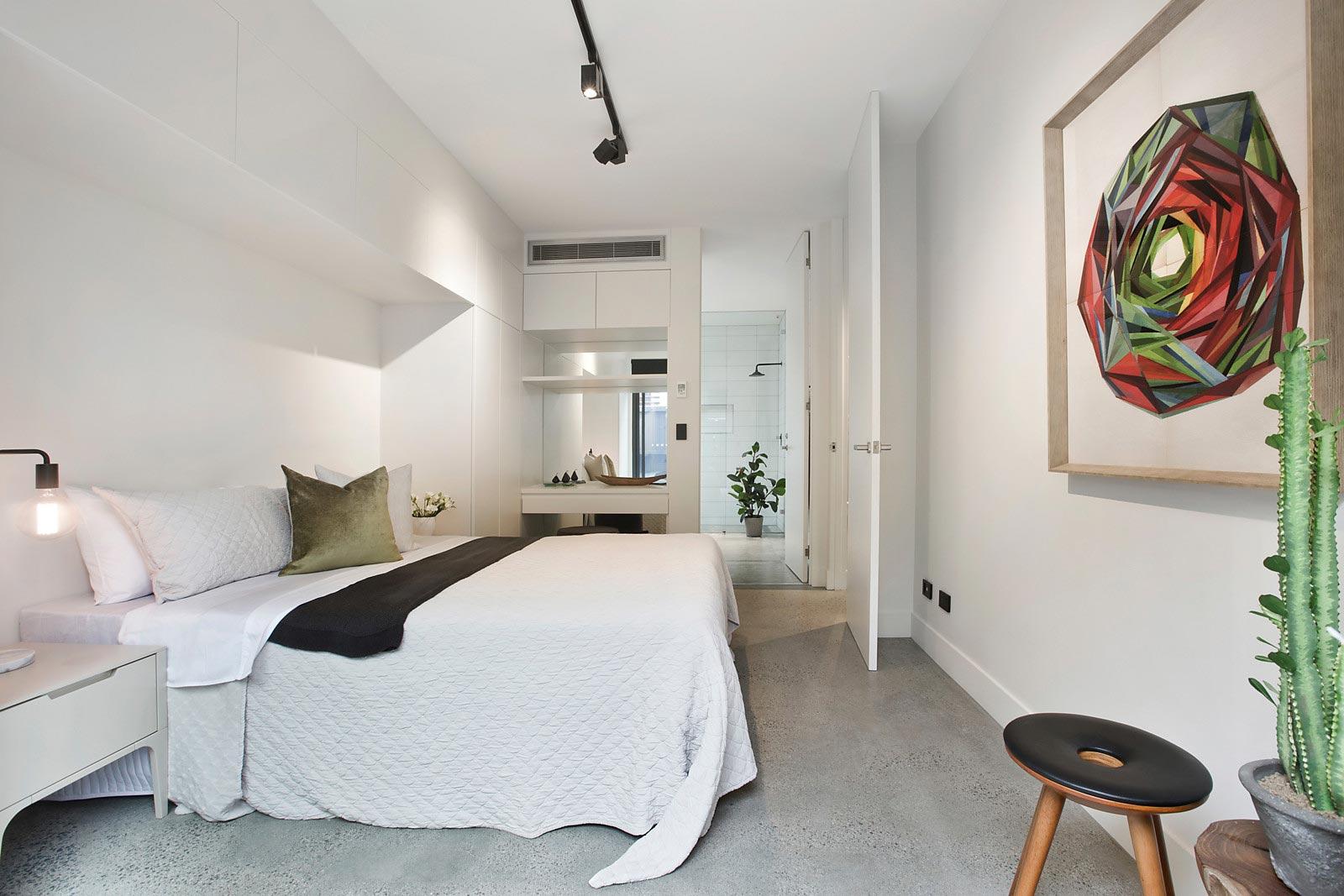 East Melbourne bedroom