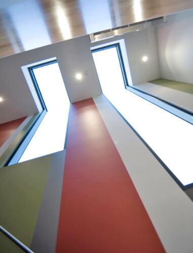 2325 Elwood Skylighting Stairwell 381x500, Michael Ellis Architects
