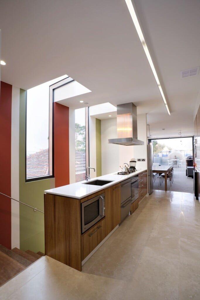 Elwood Office Kitchen 1 683x1024, Michael Ellis Architects