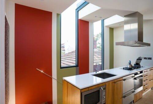 Elwood Office Lightwell 2 500x341, Michael Ellis Architects