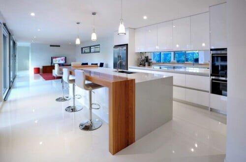 Kitchen White 500x329, Michael Ellis Architects