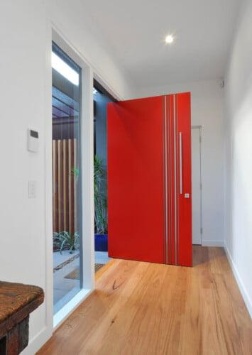 Willow Interior Door 9268 355x500, Michael Ellis Architects